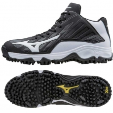 CLOSEOUT Mizuno Softball Turfs - 9 Spike Advanced Erupt 3 Mid Men's 320508
