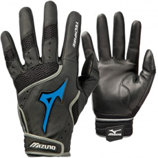 Mizuno Techfire Switch Leather Palm Batting Gloves Adult Pair