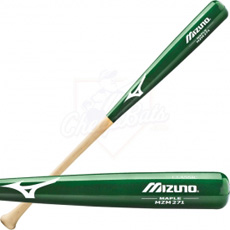 Mizuno Classic Maple Wood Baseball Bat MZM271 GREEN