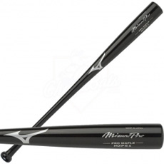 Mizuno Pro Maple Black Wood Baseball Bat - MZP51