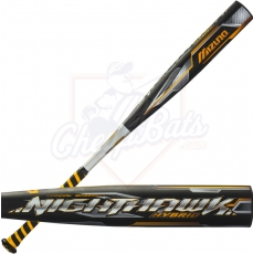CLOSEOUT 2016 Mizuno Nighthawk Hybrid BBCOR Baseball Bat -3oz 340351