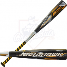 "CLOSEOUT 2016 Mizuno Nighthawk Hybrid Youth Big Barrel Baseball Bat 2 3/4"" -10oz 340352"