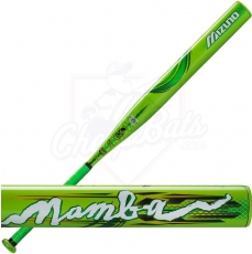 CLOSEOUT Mizuno Mamba Slowpitch Softball Bat Balanced ASA/USSSA 340360