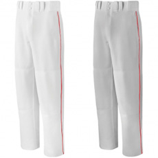 CLOSEOUT Mizuno Premier Full Length Relaxed Piped Pant - Adult 350249