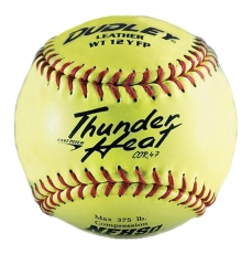 "Dudley 12"" NFHS Thunder Heat Fastpitch Softball (1 Dozen) 43147"