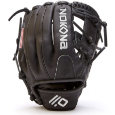 "Nokona AmericanKIP Youth Baseball Glove 11.25"" A-200I-BK"