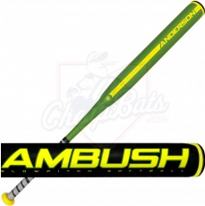 CLOSEOUT 2017 Anderson Ambush Slowpitch Softball Bat ASA Balanced 011041