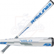 CLOSEOUT 2018 Rawlings Velo BBCOR Baseball Bat -3oz BB8V3