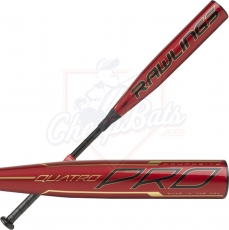 2020 Rawlings Quatro Pro BBCOR Baseball Bat -3oz BBZQ3
