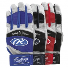 CLOSEOUT Rawlings WorkHorse Adult Batting Glove BGP950T (Pair)