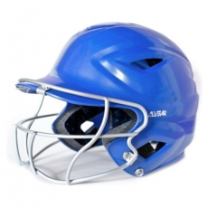 All Star Softball Batting Helmet with Face Mask BH3000FPV Adult