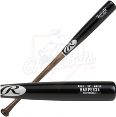 Rawlings Bryce Harper Pro Label Maple Wood Baseball Bat BH34PL