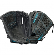 "Easton Black Pearl Youth Fastpitch Softball Glove 12"" BP1200FP A130557"