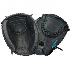"Easton Black Pearl Youth Fastpitch Softball Catcher's Mitt 33"" BP2FP A130712"