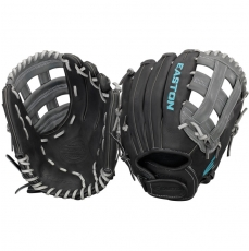 "CLOSEOUT Easton Core Pro Fastpitch Softball Glove 12.25"" COREFP1225BKGY"