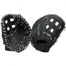 "CLOSEOUT Easton Core Pro Fastpitch Softball First Base Mitt 13"" COREFP3000BKGY"