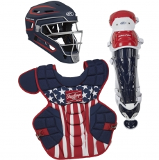 Rawlings Velo 2.0 Catcher's Gear Set (Intermediate/Youth) CSV2