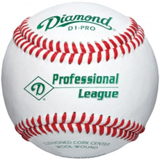 Diamond D1-PRO-NFHS Professional League Baseball (1 Dozen)