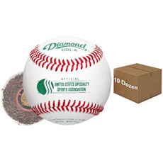 Diamond DOL-A Offical USSSA Baseball 10 Dozen