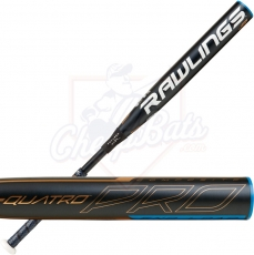 2020 Rawlings Quatro Pro Fastpitch Softball Bat End Loaded -9oz FPPE9