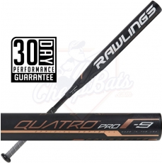 2019 Rawlings Quatro Pro Fastpitch Softball Bat -9oz FPQP9