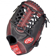 "CLOSEOUT Rawlings Gold Glove Gamer Pro Taper Series Youth Infield/Pitcher/Third Base 11.25"" GG1125G"