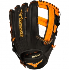 "Mizuno MVP Prime SE Slowpitch Softball Glove 12.5"" Black/Orange GMVP1250PSES3"