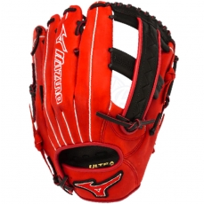 "CLOSEOUT Mizuno MVP Prime SE Slowpitch Softball Glove 12.5"" Red/Black GMVP1250PSES3"