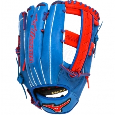 "CLOSEOUT Mizuno MVP Prime SE Slowpitch Softball Glove 12.5"" Royal/Red GMVP1250PSES3"