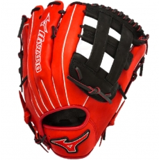 "Mizuno MVP Prime SE Slowpitch Softball Glove 13"" Red/Black GMVP1300PSES3"