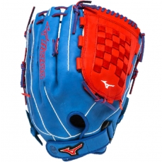 "Mizuno MVP Prime SE Slowpitch Softball Glove 14"" Royal/Red GMVP1400PSES3"
