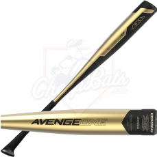CLOSEOUT 2019 Axe AvengeOne Youth USA Baseball Bat -10oz L164G