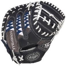 "CLOSEOUT Louisville Slugger HD9 Catchers Mit 33.5"" Navy FGHDNV5-CTM1"