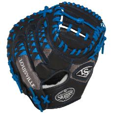 "Louisville Slugger HD9 Catchers Mitt 33.5"" Royal FGHDRL5-CTM1"