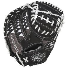 "CLOSEOUT Louisville Slugger HD9 Catchers Mitt 33.5"" White FGHDWT5-CTM1"