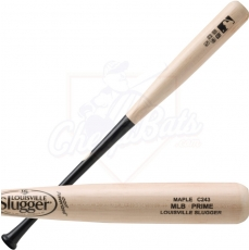 CLOSEOUT Louisville Slugger MLB Prime Maple C243 Wood Baseball Bat WBVM243-NB