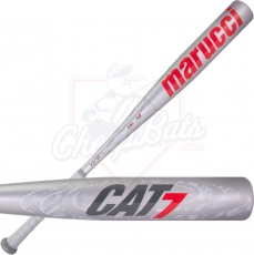 Marucci Cat 7 Silver BBCOR Baseball Bat -3oz MCBC72S