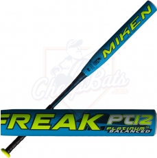 CLOSEOUT 2017 Miken Freak Platinum Slowpitch Softball Bat Balanced USSSA MFPT12