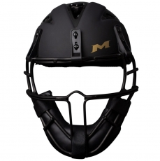 Miken Black Gold Slowpitch Softball Helmet/Mask MGLDPH
