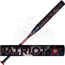 CLOSEOUT 2017 Miken Freak Patriot Slowpitch Softball Bat Maxload USSSA MPTRMU
