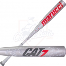 Marucci Cat 7 Silver Youth USSSA Baseball Bat -10oz MSBC7210S