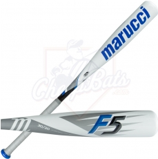 "CLOSEOUT Marucci F5 Youth Big Barrel Baseball Bat 2 3/4"" -10oz MSBF5X10"