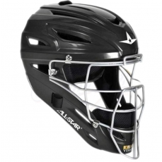 All Star MVP2400 Catcher's Helmet with Matte Finish - ADULT