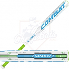 CLOSEOUT 2016 Combat Maxum Two-Piece Fastpitch Softball Bat -11oz MX2FP111