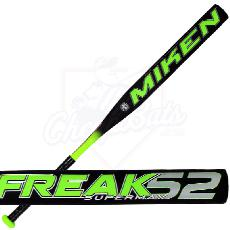 2015 Miken FREAK 52 Slowpitch Softball Bat Supermax ASA 52FKMA