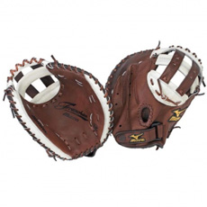 Mizuno Franchise Pro Series Fastpitch Softball Catcher's Mitt GXS92 34""