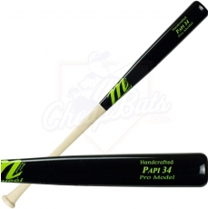 CLOSEOUT Marucci David Ortiz Pro Maple Wood Baseball Bat PAPI34WB