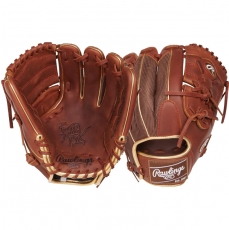 "CLOSEOUT Rawlings Heart of the Hide Color Sync Series Baseball Glove 11.75"" PRO205-9TIM"