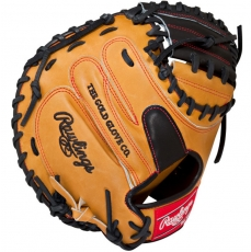 "CLOSEOUT Rawlings Heart of the Hide Baseball Catcher's Mitt 33"" PROCM33BUB"