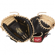 "Rawlings Heart of the Hide R2G Baseball Catcher's Mitt 33"" PRORCM33-23BC"